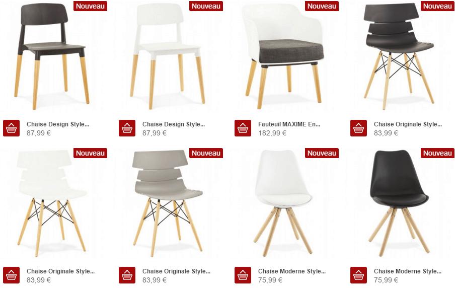 réduction meuble design scandinave techneb | techneb shop news - Boutique Design Scandinave Meubles
