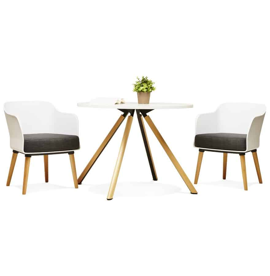 Fauteuil + Table Design Scandinave Techneb shop