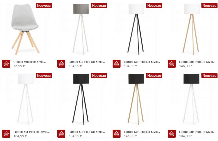 Meubles Design Scandinave Techneb shop
