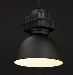Lampe suspendue style/design industriel techneb
