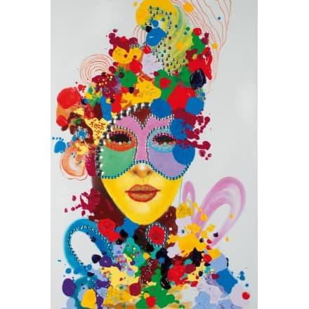 tableau-peinture-figurative-contemporaine-carnaval-