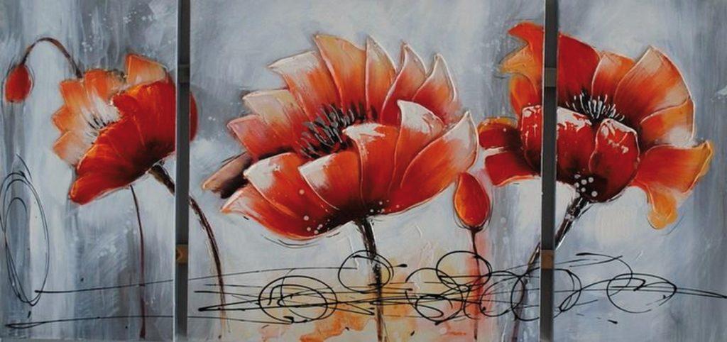 "Tableau florale ""Lotus"""