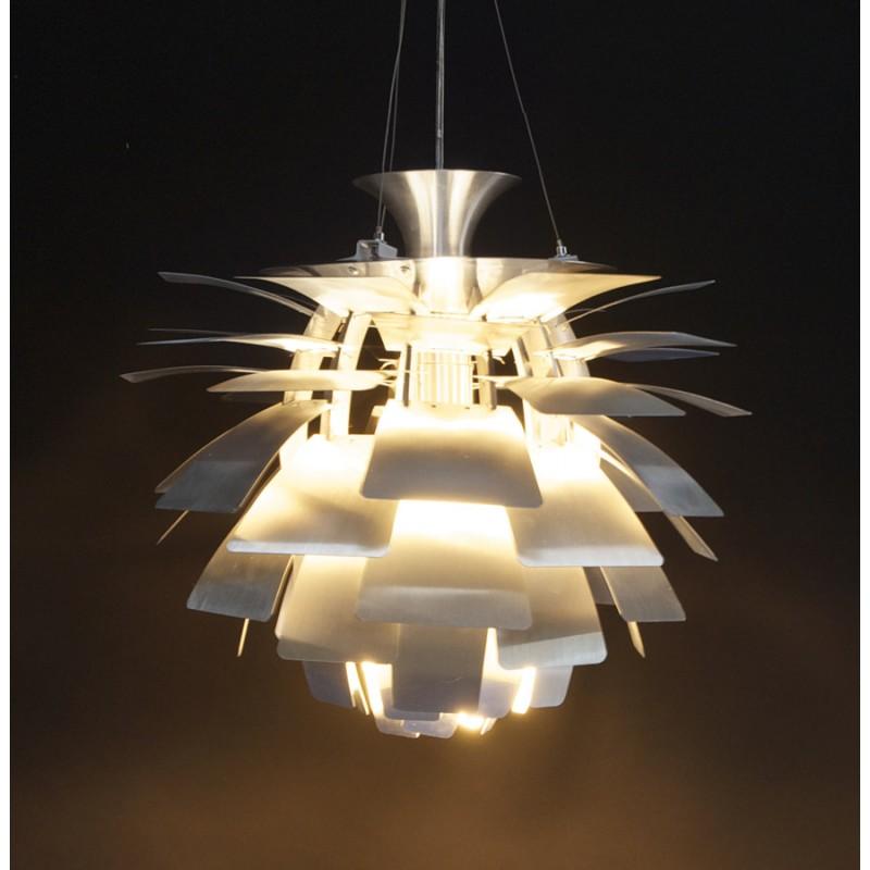 Lampe artichaut en métal