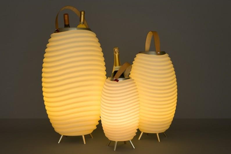 LAMPE SEAU A CHAMPAGNE