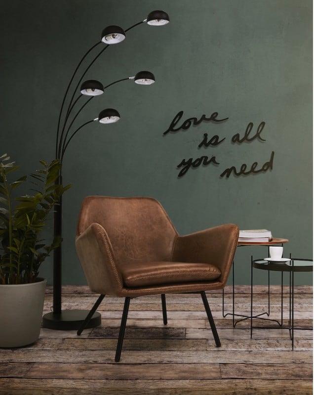 Lampe sur pied design