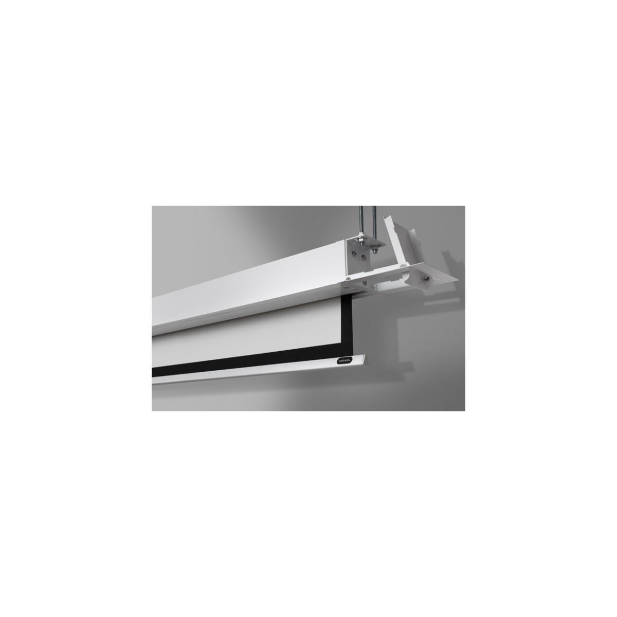 Ecran encastrable au plafond celexon motoris pro 160 x - Ecran de projection encastrable plafond ...