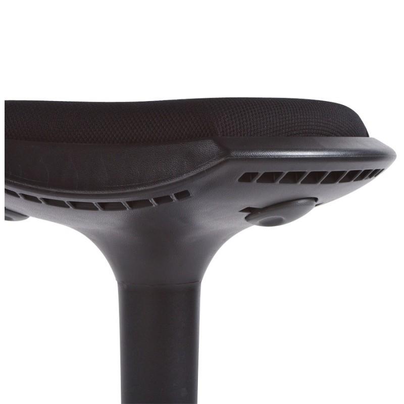 tabouret vienne en tissus r sistant et polypropyl ne moul. Black Bedroom Furniture Sets. Home Design Ideas