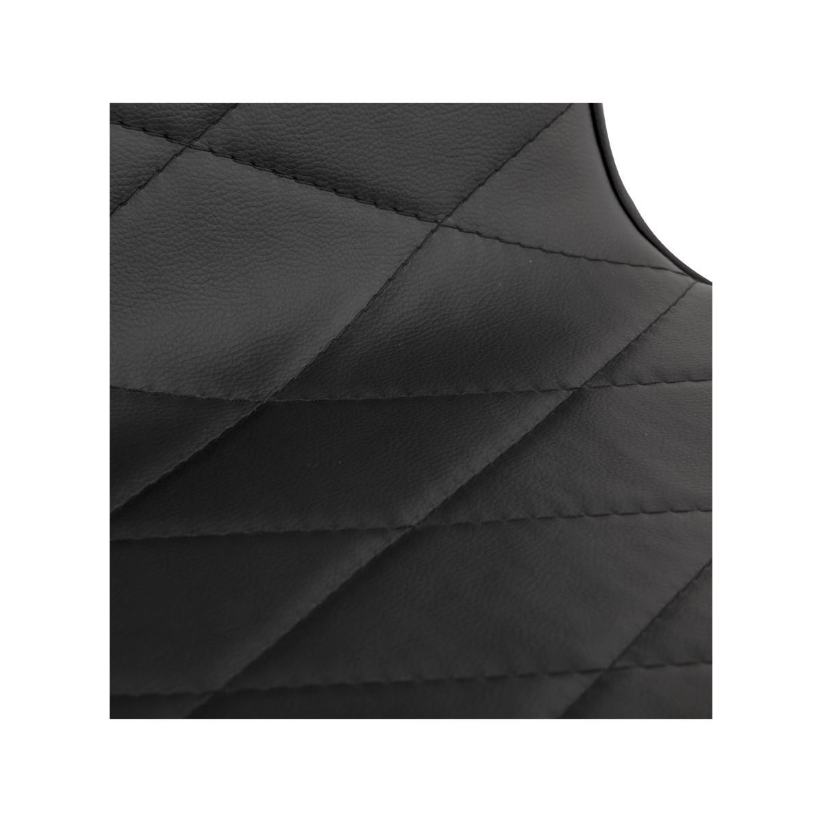 Chaise metal et cuir 28 images chaise design fil de for Chaise cuir noir