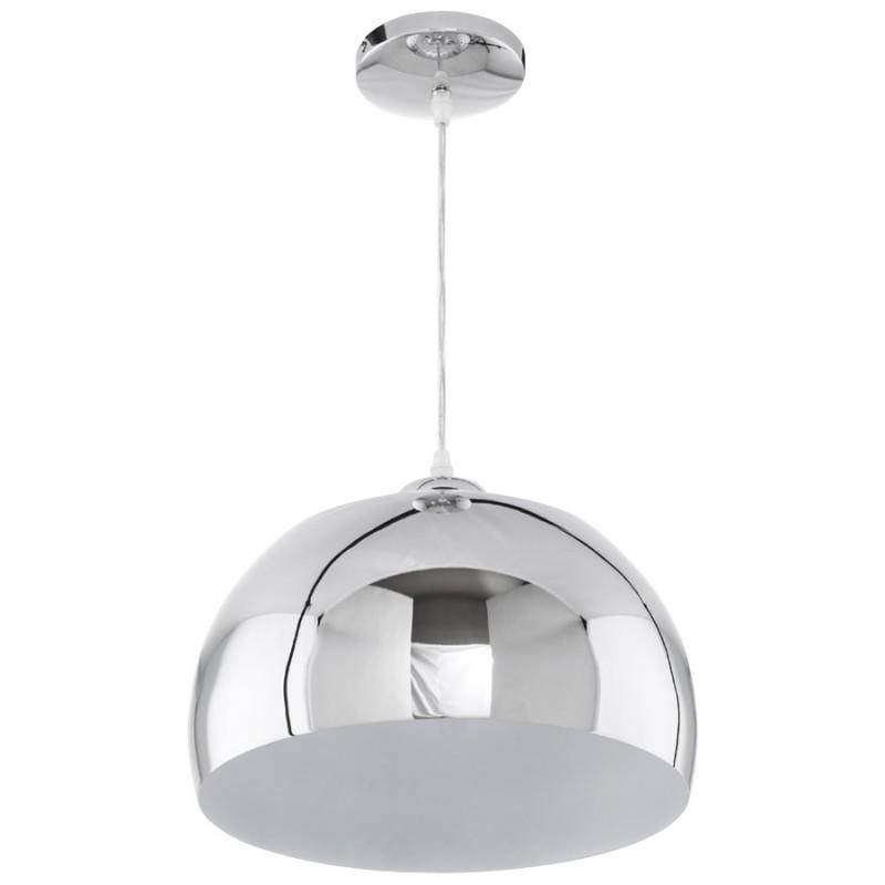 lampe suspension design arrenga en m tal chrom fran ais french. Black Bedroom Furniture Sets. Home Design Ideas