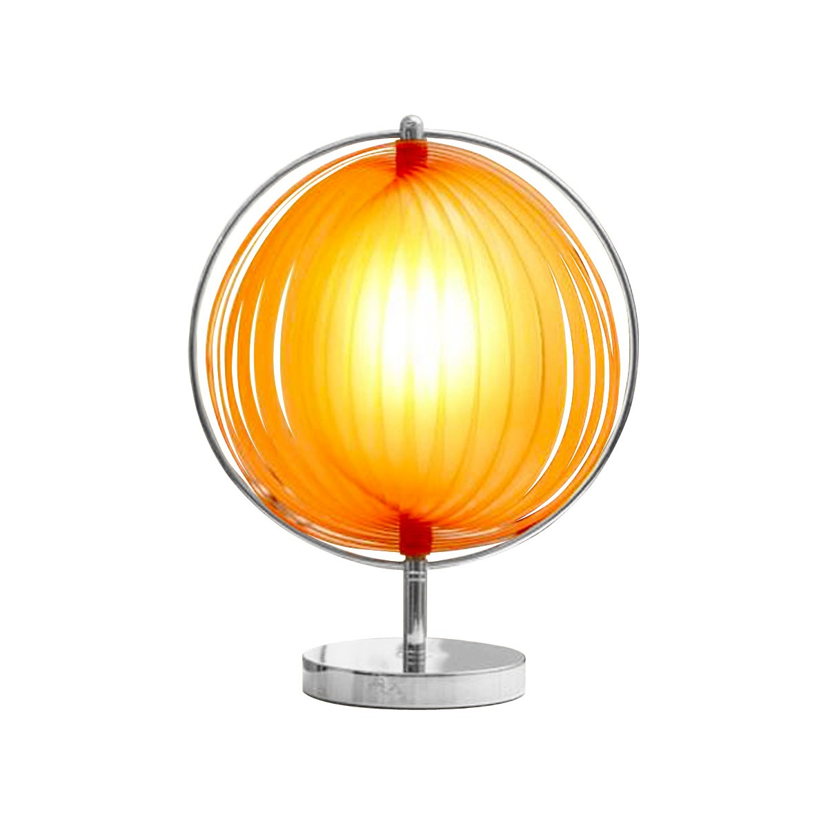 lampe de table design beche small en m tal orange fran ais french. Black Bedroom Furniture Sets. Home Design Ideas