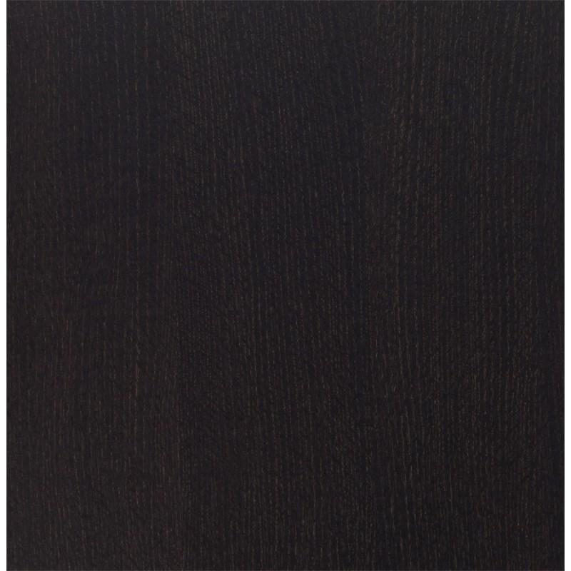 Plateau de table jasmine carr en bois 68cmx68cmx5cm weng for Peinture wenge bois
