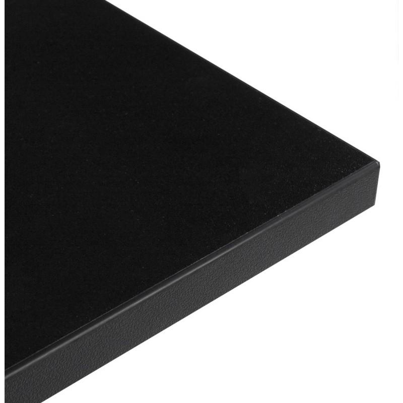plateau de table lea carr en bois stratifi. Black Bedroom Furniture Sets. Home Design Ideas