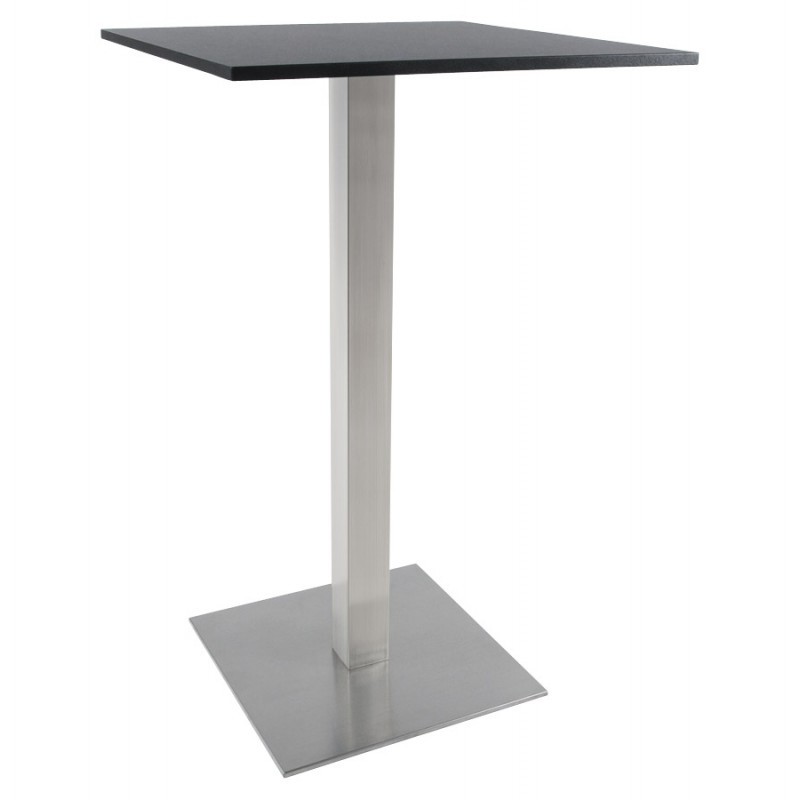 pied de table wind carr sans plateau en m tal peint. Black Bedroom Furniture Sets. Home Design Ideas