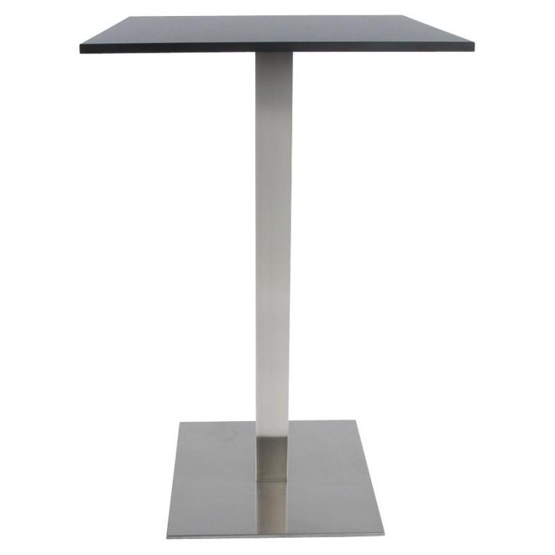 pied de table wind carr sans plateau en m tal peint 50cmx50cmx110cm acier. Black Bedroom Furniture Sets. Home Design Ideas