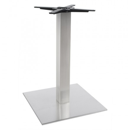 pied de table wind carr sans plateau de taille moyenne acier fran ais french. Black Bedroom Furniture Sets. Home Design Ideas