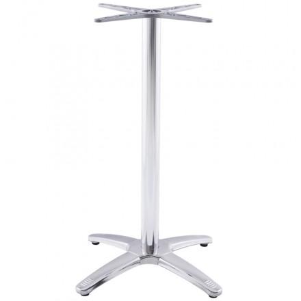 pied de table autan forme croix de grande taille en m tal chrom alluminium fran ais french. Black Bedroom Furniture Sets. Home Design Ideas