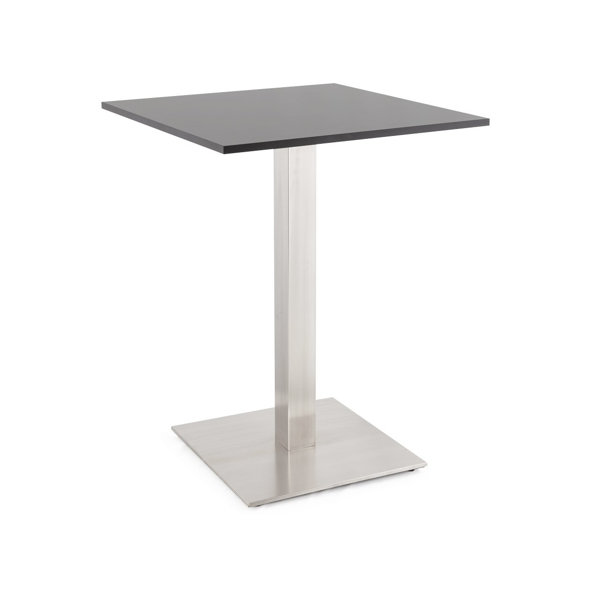 Pied de table pary carr en m tal acier fran ais french - Pieds de table en metal ...