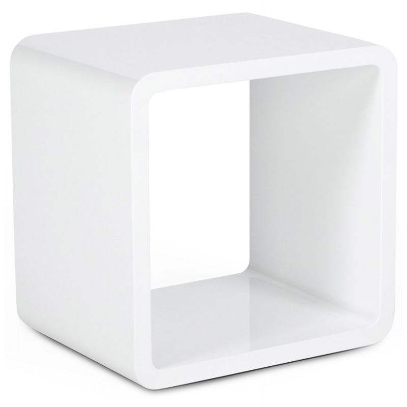 Cube to use verso wooden mdf lacquer white - Cube blanc laque ikea ...