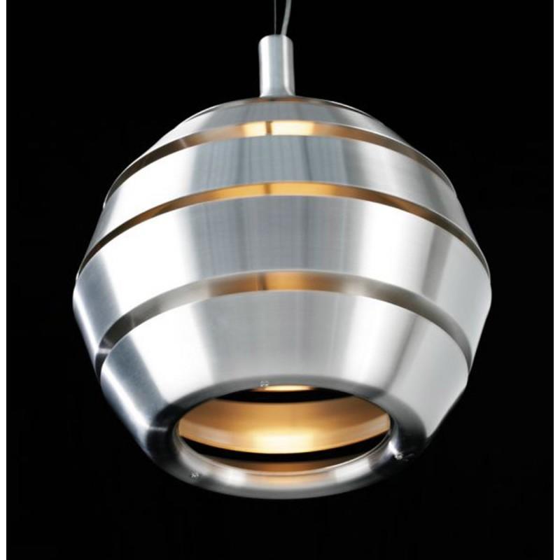 lampe suspendue design trogon en m tal argent fran ais french. Black Bedroom Furniture Sets. Home Design Ideas