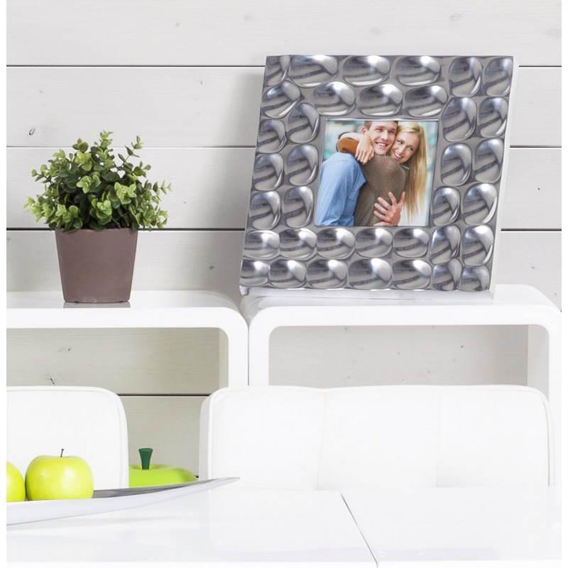 cadre photos grand format martel en aluminium aluminium. Black Bedroom Furniture Sets. Home Design Ideas