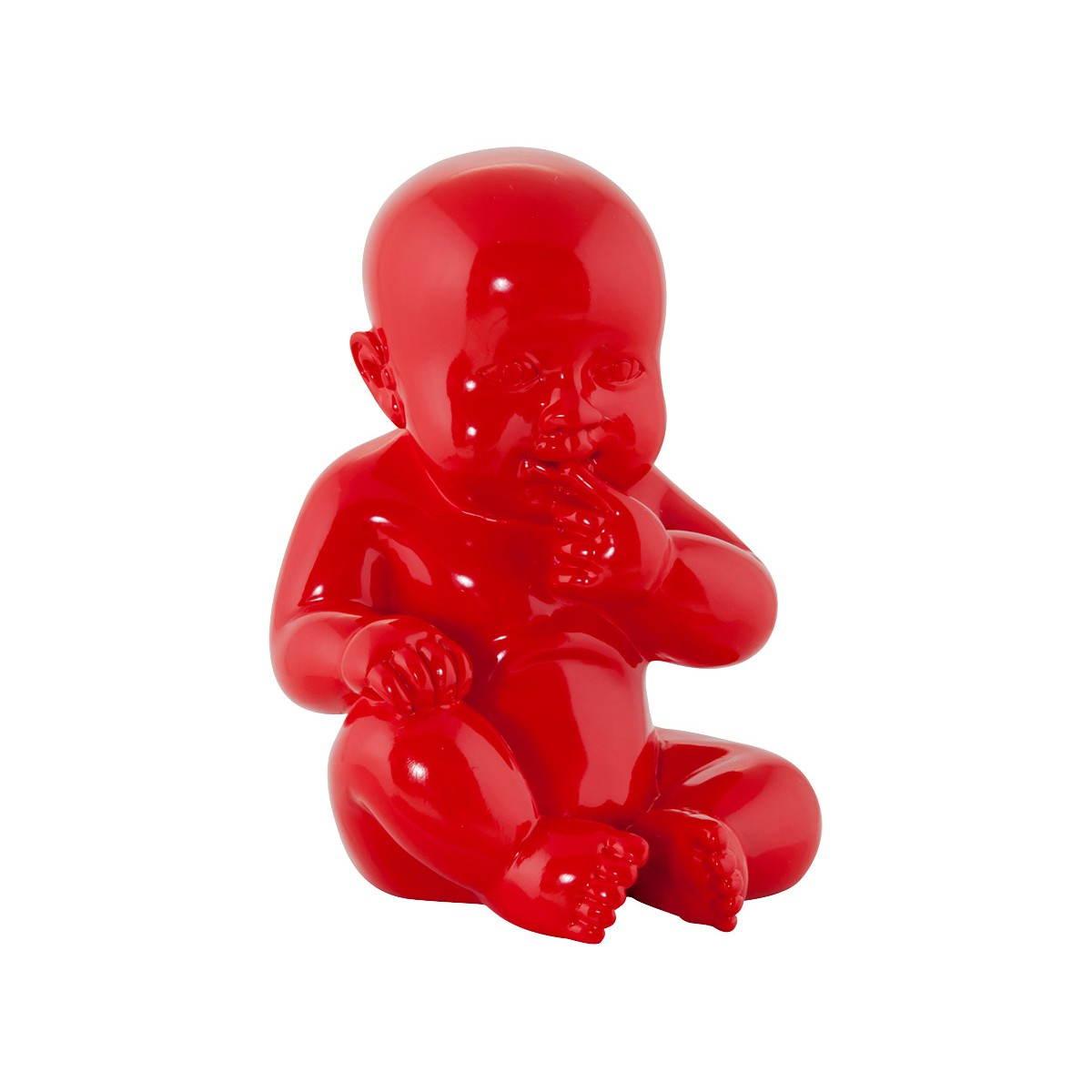 statuette form baby kissous fibreglass