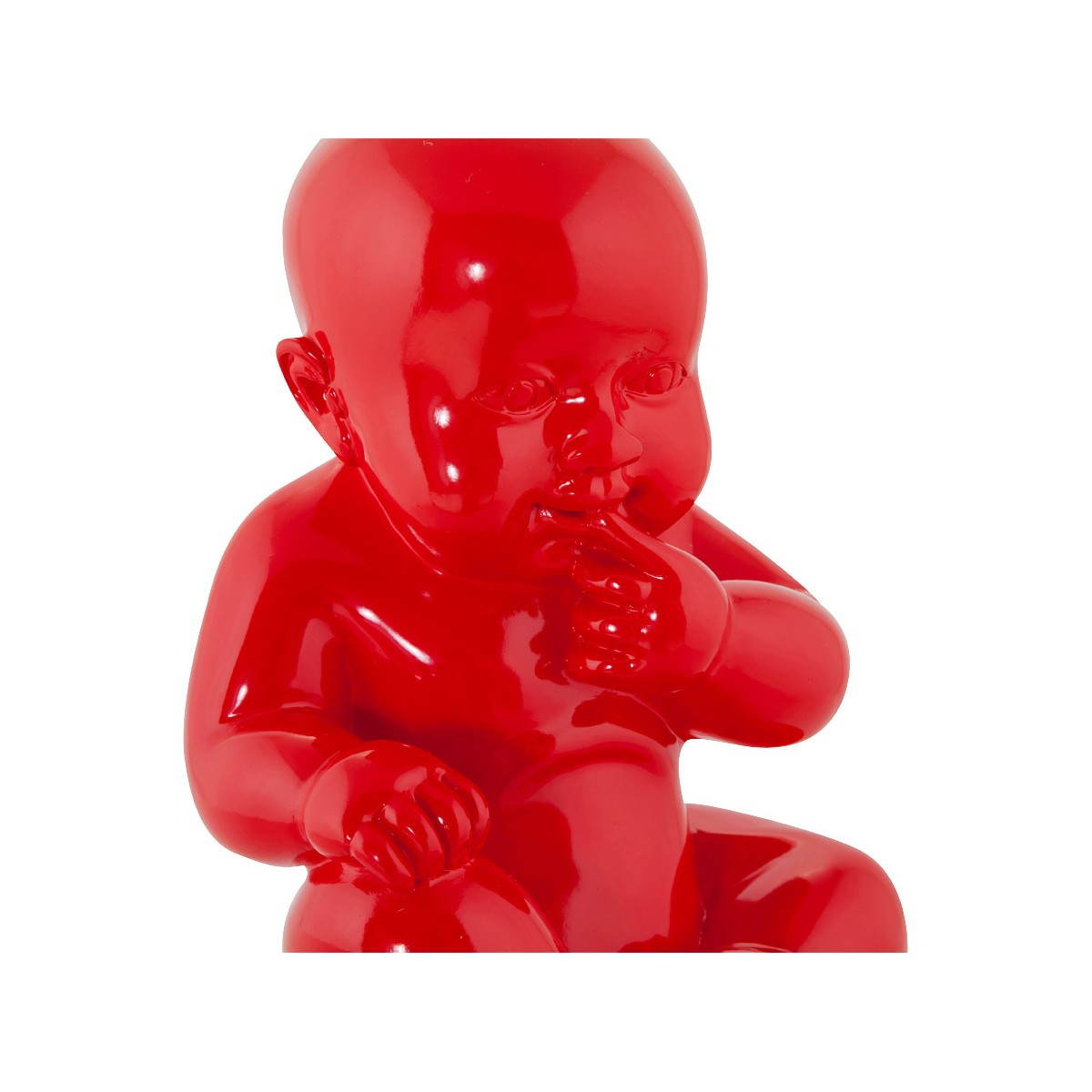 Statuette form baby kissous fibreglass red english english - Fibre de verre decorative ...