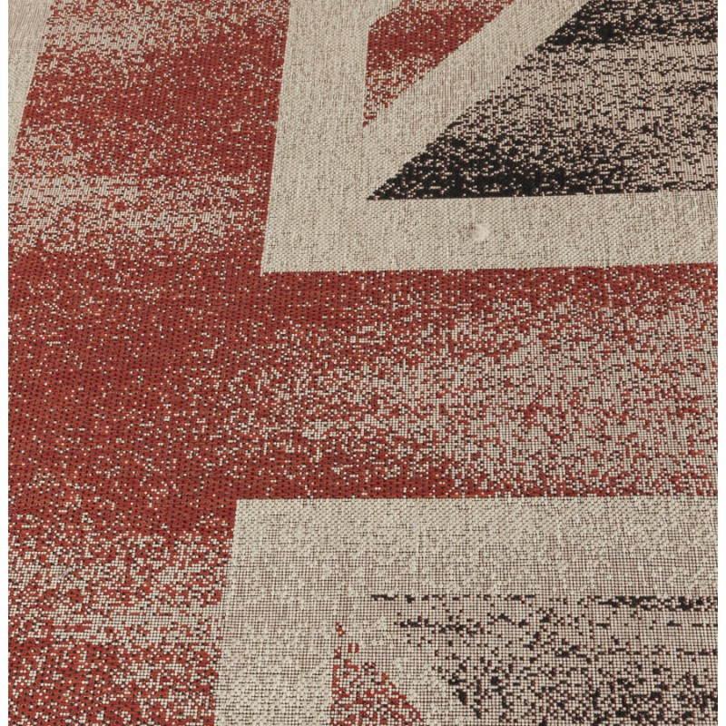 Tapis contemporain et design drapeau uk rectangulaire for Tapis contemporain design
