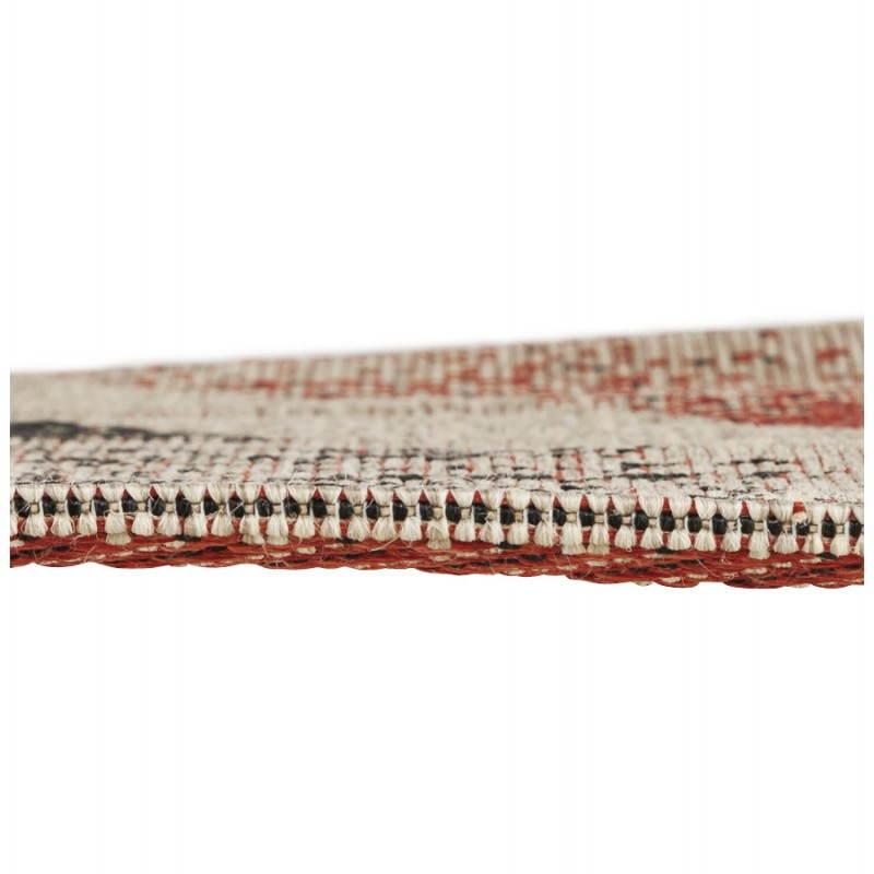 tapis contemporain et design drapeau uk rectangulaire grand mod le noir rouge blanc mobilier. Black Bedroom Furniture Sets. Home Design Ideas