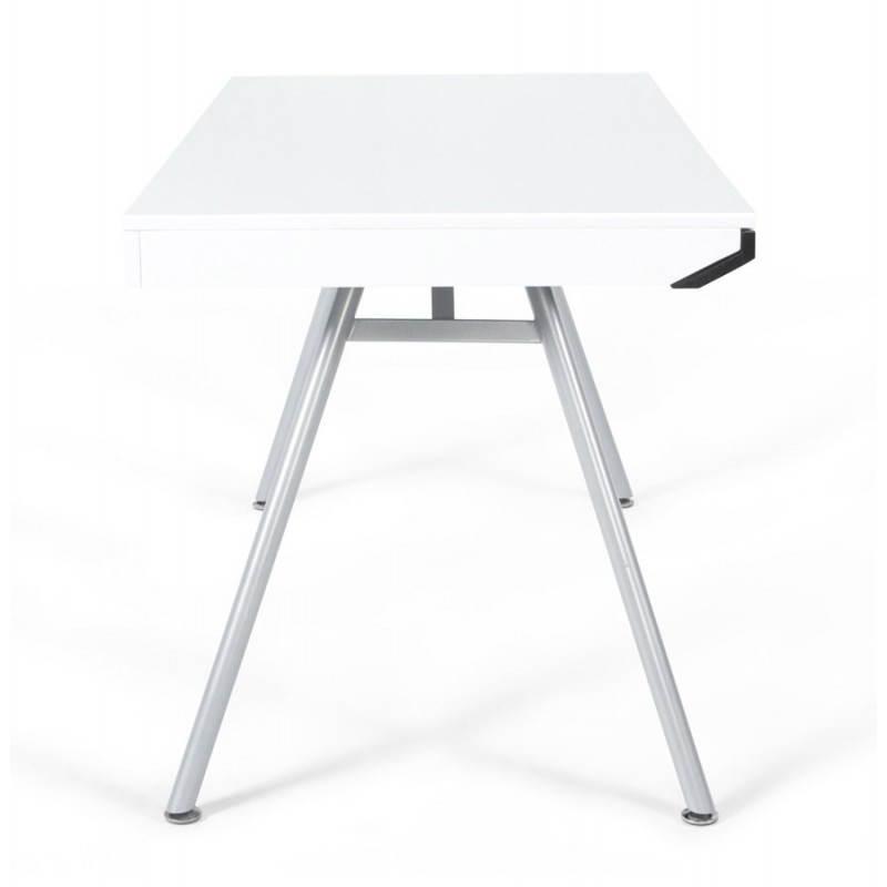 Bureau Design Bois Laque : Caract?ristiques du produit : Bureau design PALAOS en bois laqu? et