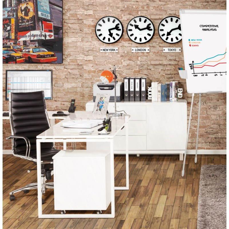 Corsica di armadietto basso in legno laccato (bianco) furniture ...
