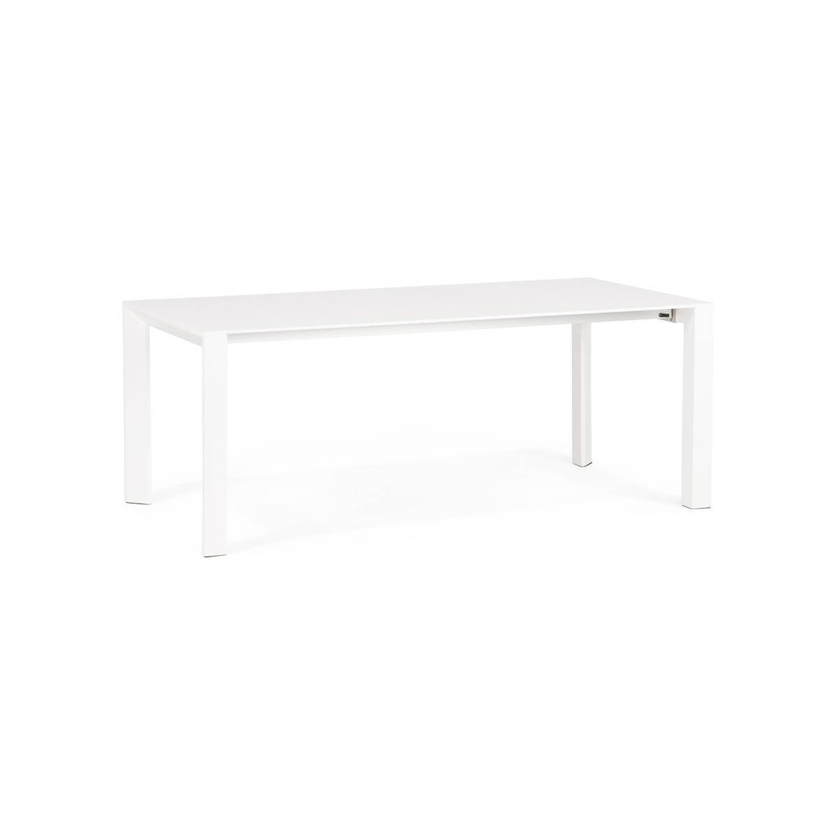 table design avec 2 rallonges macy en bois peint blanc english english. Black Bedroom Furniture Sets. Home Design Ideas