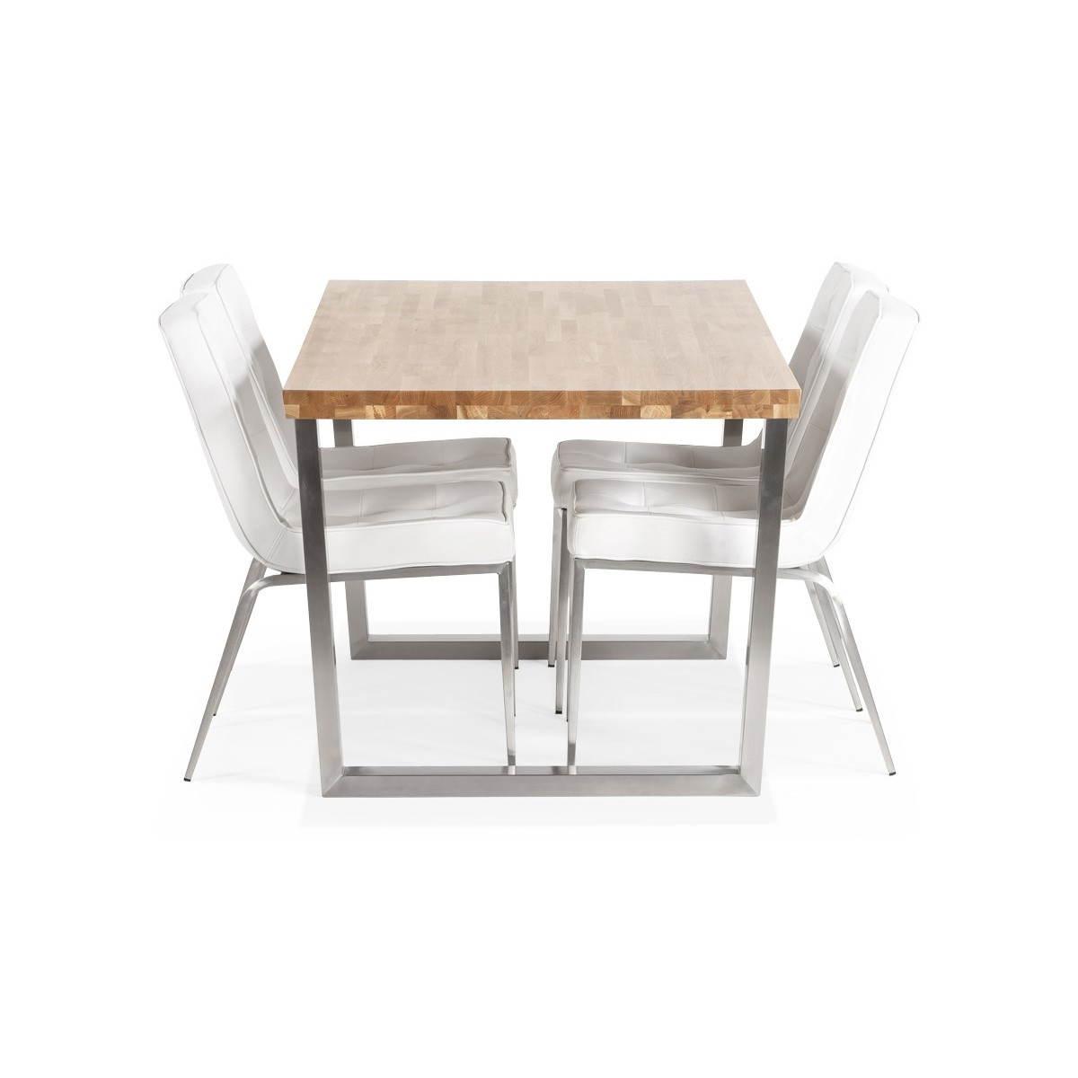 #8B6140 Table Moderne Rectangulaire PANOU En Chêne Massif (bois  4041 table salle a manger chene massif rectangulaire 1200x1200 px @ aertt.com