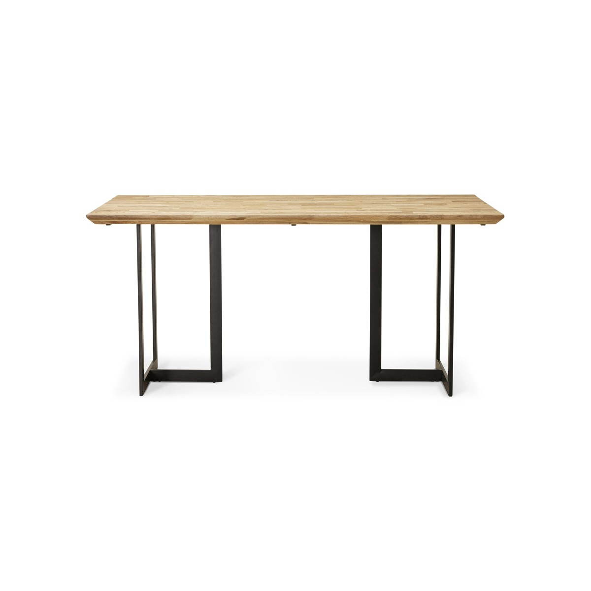 Table Moderne Rectangulaire Nanou En Ch Ne Bois Naturel
