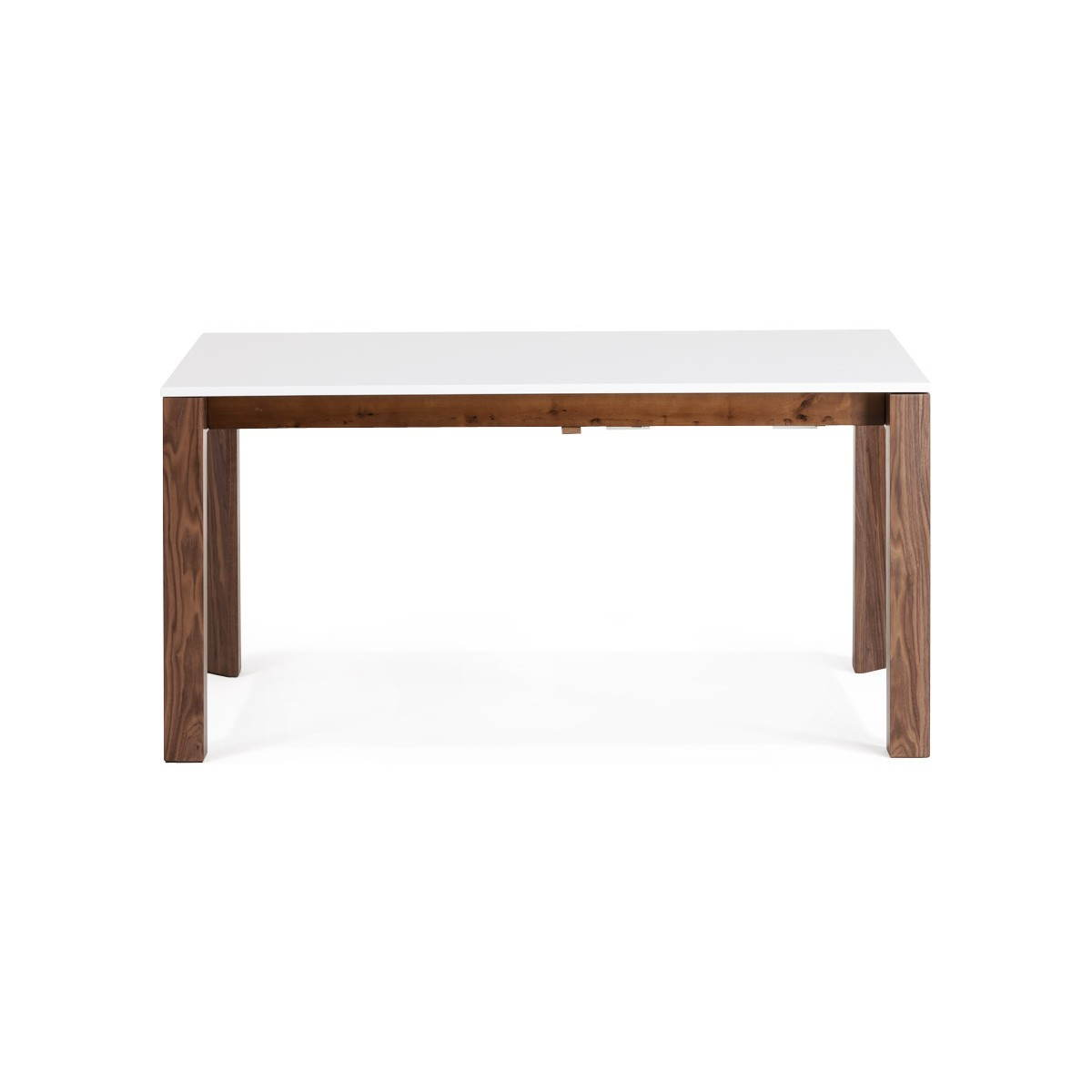 Table rallonge design table a manger a rallonge table for Table rectangulaire 160 cm avec rallonge