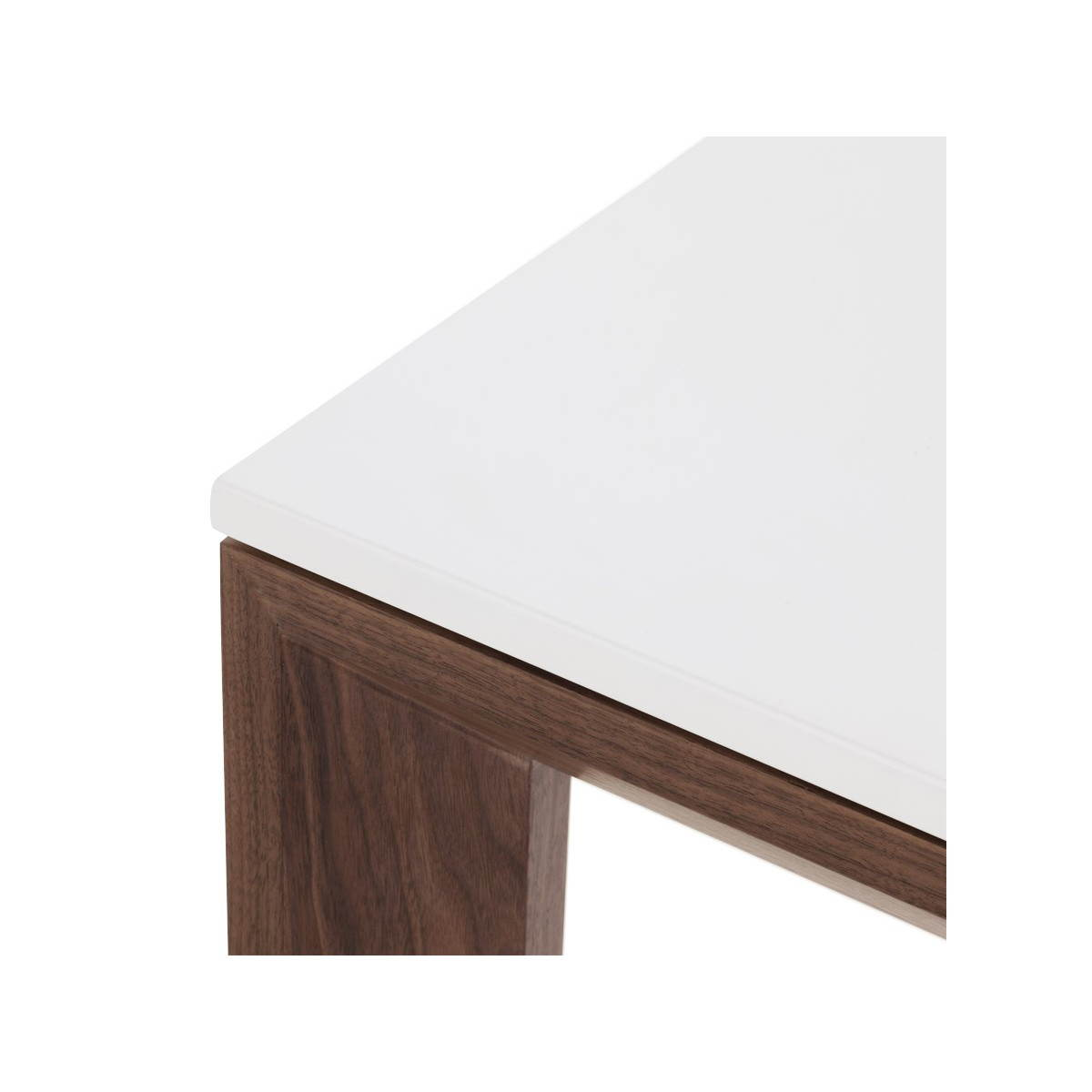 Table design rectangulaire avec rallonge loulou en bois for Table en bois