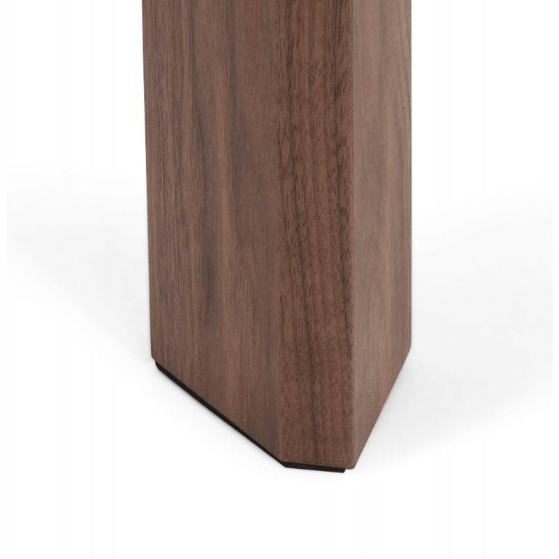 Table design rectangulaire avec rallonge LOULOU en bois  ~ Table En Bois Blanc Avec Rallonge