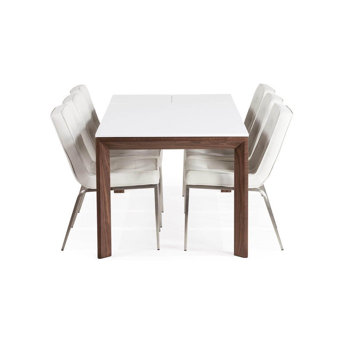 Table bois rallonge ikea for Table rectangulaire a rallonge