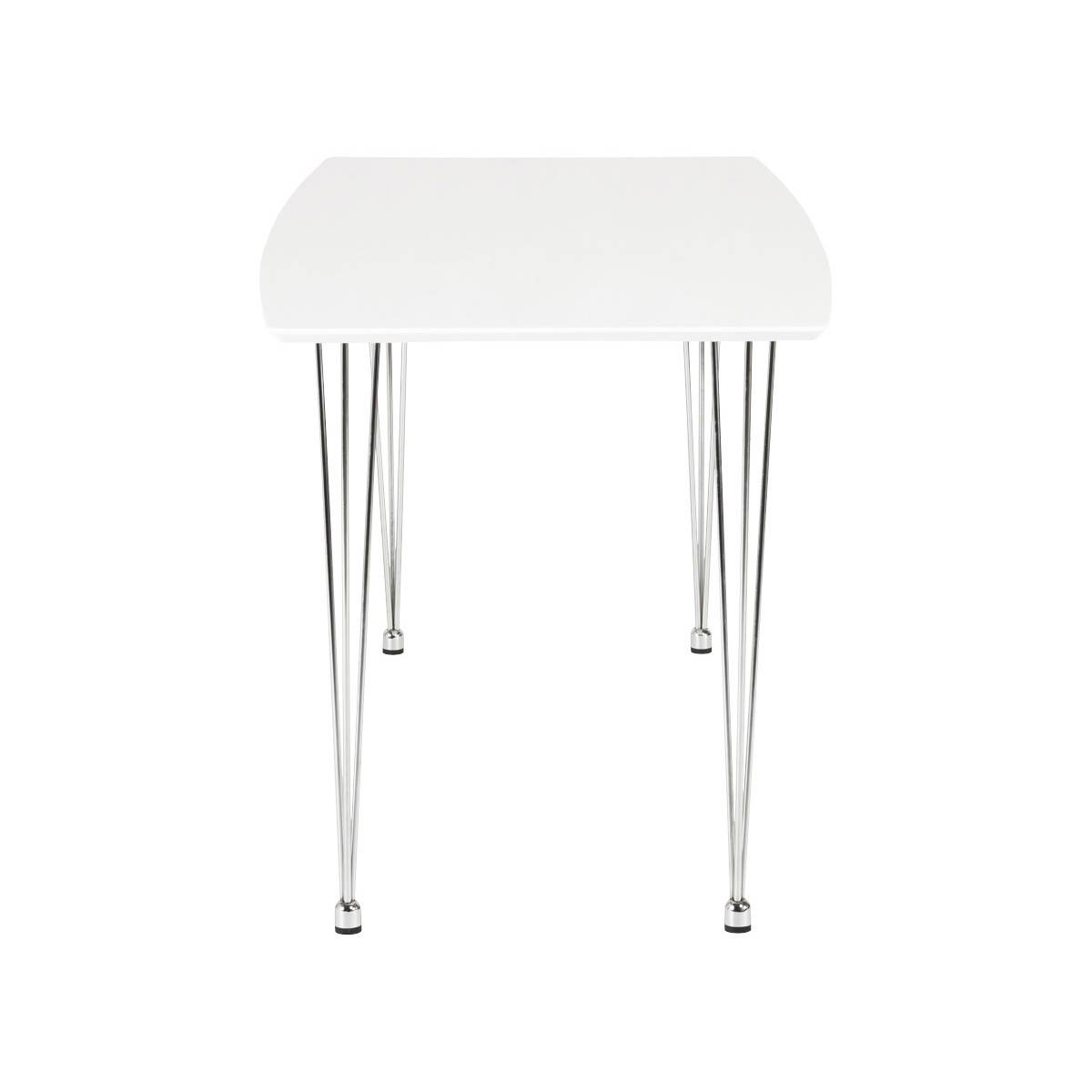 Table design rectangulaire SOPHIE en bois (blanc) (English (English))