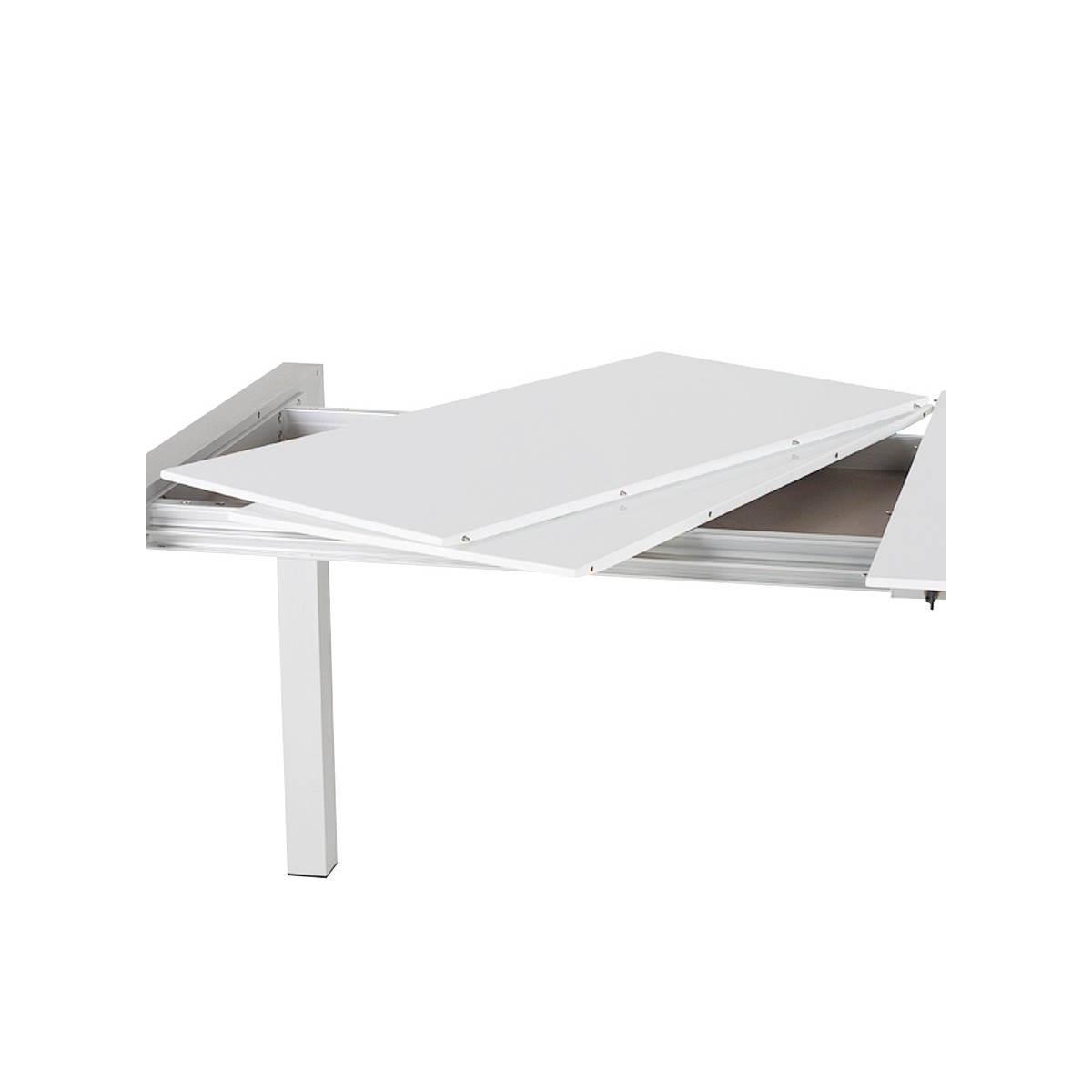 Table rectangulaire avec rallonges maison design for Ikea table rectangulaire