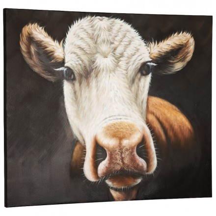 toile d corative vache mobilier design au meilleur rapport qualit prix. Black Bedroom Furniture Sets. Home Design Ideas