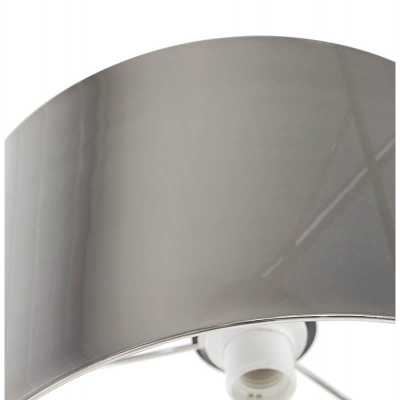 Lampe sur pied de style industriel turin chrom - Lampe sur pied style industriel ...