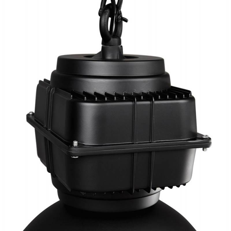 lampe suspendue industrielle savone en m tal noir mat fran ais french. Black Bedroom Furniture Sets. Home Design Ideas