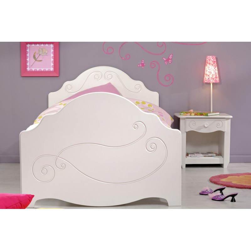 lit fille junior. Black Bedroom Furniture Sets. Home Design Ideas