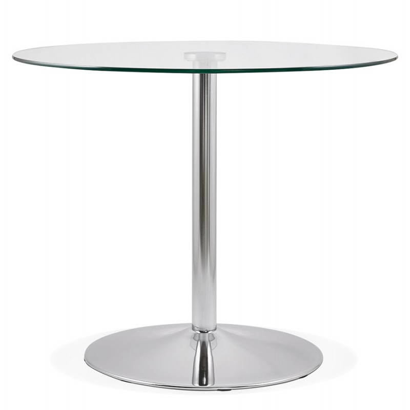 Table ronde verre 90 cm crowdbuild for - Table ronde 90 cm ...