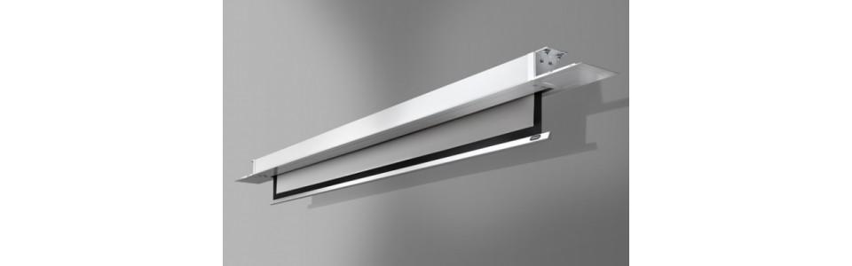 Accessoires de projection ecrans encastrables au plafond - Ecran de projection encastrable plafond ...