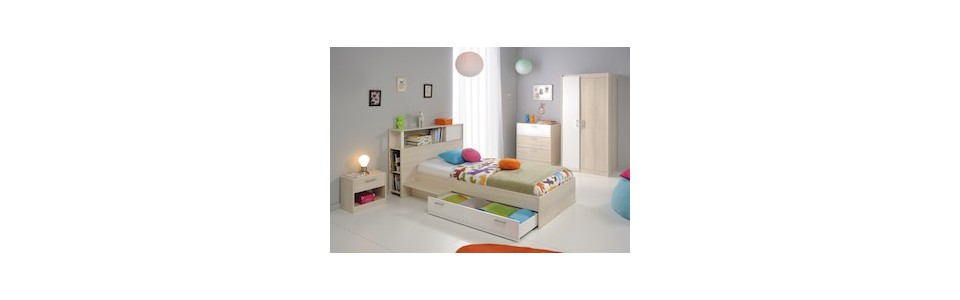 chambre junior fille gar on alex techneb shop mobilier design qualit. Black Bedroom Furniture Sets. Home Design Ideas